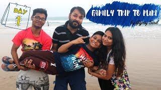PURI VLOG || FAMILY TRIP  || DAY 1 || ODISHA TOURISM || GYPSY SOUL
