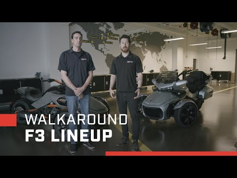 2021 Can-Am Spyder F3-T in Bakersfield, California - Video 2