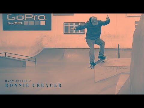 Happy Birthday Ronnie Creager!