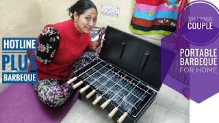 Starvin Hy-tech Hotline Barbeque -Mini Portable and All in one what we need | तंदूरी टिक्का बनेगा घर