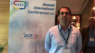 Mr. Hew Cameron Merrett at ACE Conference 2018 by GSTF Singapore