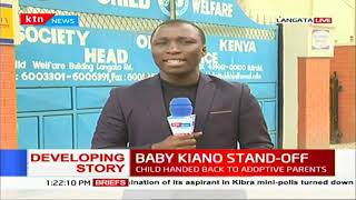 Baby Kiano Stand-Off: Child handed back to adoptive parents