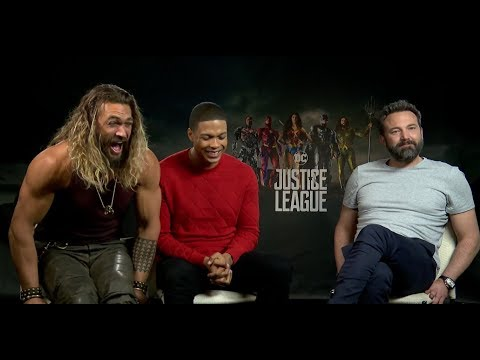 Ben Affleck, Jason Momoa, & Ray Fisher Interview for