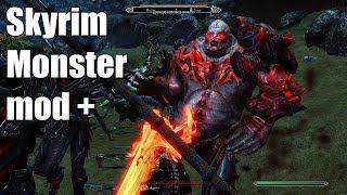 Skyrim Monster mod +