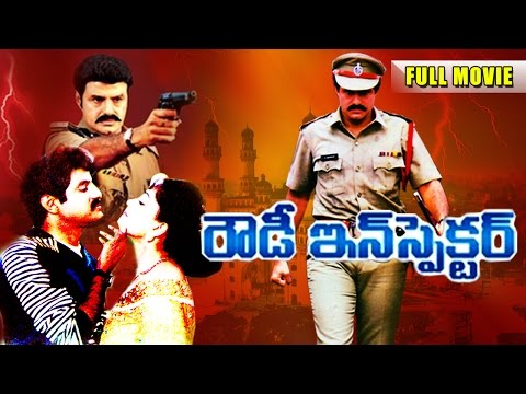 Rowdy Inspector Telugu Full Length Movie || Bala Krishna, Vijaya Shanti