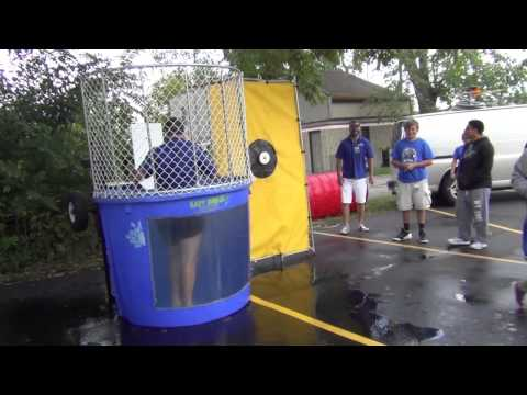 Jason enters the dunk tank to help raise money for Christopher's Pocket Full Of Sunshine! Arnold's raised a total of $750. Christopher's Pocket Full Of Sunshine's mission is to improve child life services at children oncology hospitals.
