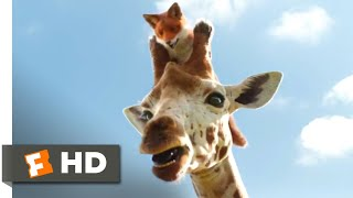Dolittle (2020) - Death-Defying Giraffe Ride Scene (4/10) | Movieclips