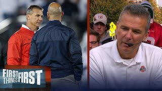 Urban Meyer joins Nick and Cris before Ohio State vs Penn State | FIRST THINGS FIRST