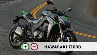 Kawasaki Z1000 - Плюсы и Минусы - 140 сил подешману
