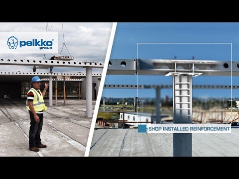 DELTABEAM® Composite Beam | Peikko Group