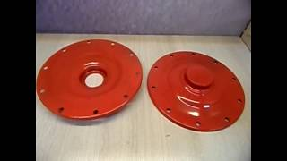 Флянец верхний опора защита бака к бетономешалке китай 125 / 130 л от компании Инструментик - видео