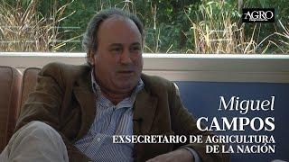 Miguel Campos - Exsecretario de Agricultura de la Nación
