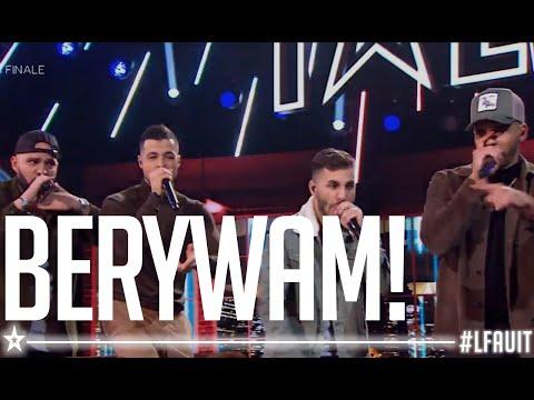 BERYWAM    live final   France's got talent 2018