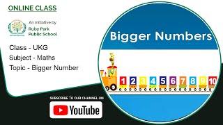 UKG | Bigger Number | Maths Lesson | Ruby Park Public School Thumbnail