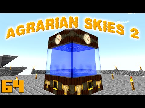 Minecraft Mods Agrarian Skies 2 - THAUMIC HORIZONS [E64] (Modded Skyblock)