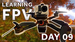 Learning how to fly a FPV Drone [Day 9] LIFTOFF SIMULATOR