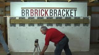 BR Brick Bracket Installation Video