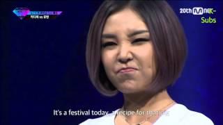 [ENG SUB] KittiB vs Yubin Diss Rap Battle