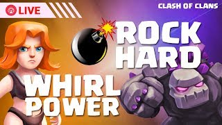 ROCK HARD & WHIRL POWER New Event Live Stream || Coc Clashers