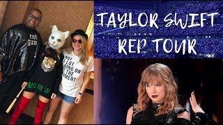 Taylor Swift Vlog | Reputation Tour Houston