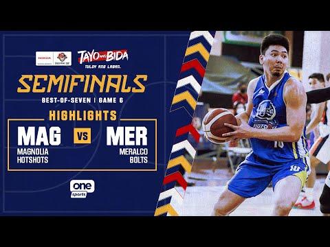 Magnolia vs Meralco highlights   2021 PBA Philippine Cup - Oct 15, 2021