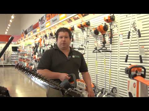 The Benefits of a STIHL Hedge Trimmer from Moe's (2013)