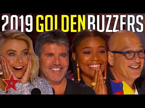 Every GOLDEN BUZZER Audition On America&#39s Got Talent 2019!Got Talent Global