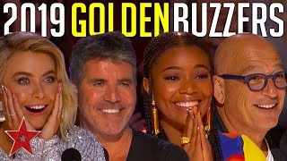 Every GOLDEN BUZZER Audition On America's Got Talent 2019!  Got Talent Global