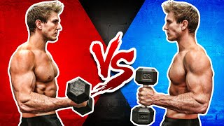 Dumbbell Bicep Curl VS.  Hammer Curl (WHICH BUILDS BIGGER BICEPS?)