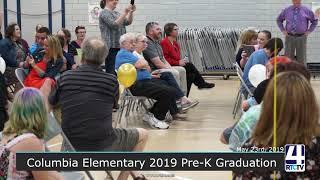 Columbia Elementary 2019 Pre-K Graduation - 5-23-19