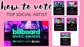 BILLBOARD MUSIC AWARDS 2021 | HOW TO VOTE FOR TOP SOCIAL ARTIST | BBMA 2021 SB19