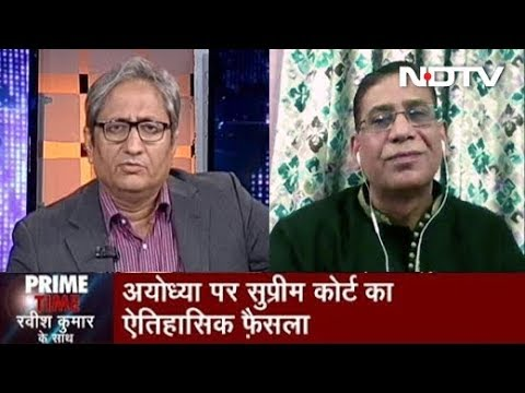 Prime Time With Ravish Kumar, Nov 11, 2019 | Dr Faizan Mustafa On The Ayodhya Verdict