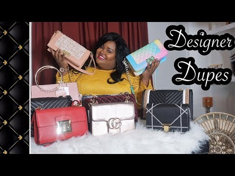 Designer Dupes Handbags| Chanel | Gucci| Chloe| Aldo| Best Designer Dupes