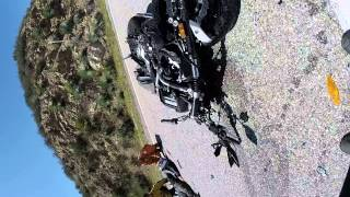 Glendora Ridge Road motorcycle accident