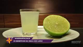 Saiba os benefícios da água com limão