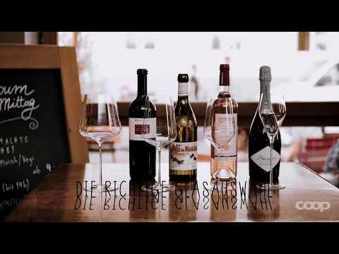 Welches ist das richtige Glas für deinen Wein?