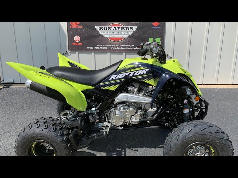 2020 Yamaha Raptor 700R SE in Greenville, North Carolina - Video 1