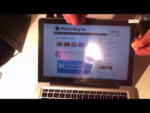 Review: Displayschutzfolie für MacBook Pro New 13