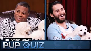 Tonight Show Pup Quiz with TracyMorgan and JaredLeto