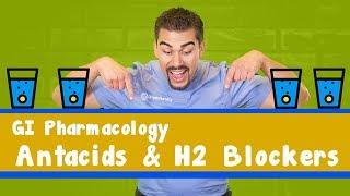 GI pharmacology: Antacids & H2 blockers
