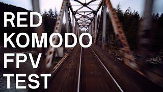 RED KOMODO CINE-FPV TEST 4K