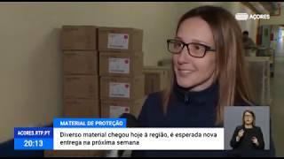 03/04: Região reforça material de proteção individual para médicos e utentes do Serviço Regional de Saúde