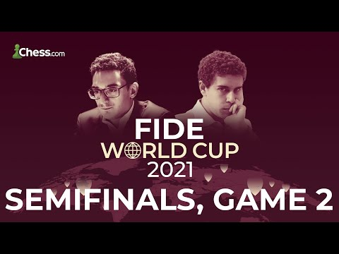 Caruana Joins The Broadcast for Game 2 of the Semifinals   FIDE World Cup