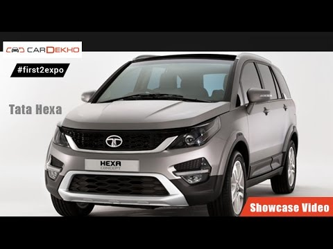 #first2expo : Tata Hexa | Showcase Video | CarDekho@AutoExpo2016 CarDekho  CarDekho