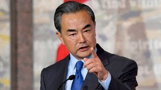 China's Foreign Minister criticizes Canadian reporter for her question