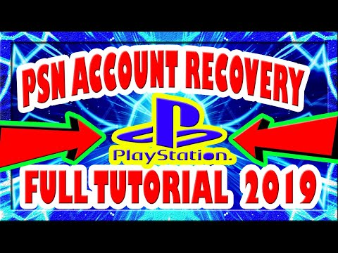 How to reset PSN Password without date of birth! 2019! New