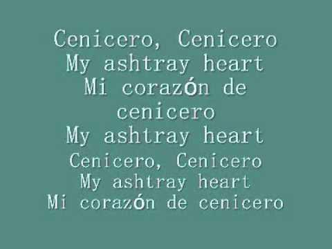 Placebo- My ashtray heart  (with lyrics)