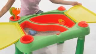 """Стол для игр с песком и водой Keter от компании Интернет-магазин """"Timatoma"""" - видео"""