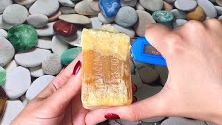 Crunchy very very dry soap (NO TALKING)/ ASMRSOAP/ Vintage dry soap
