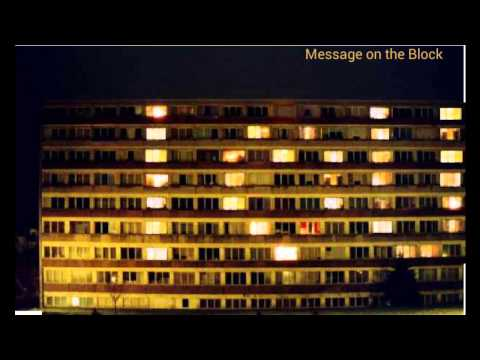 Video of Message on the Block